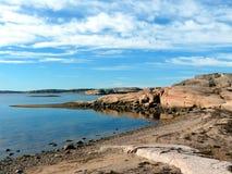 Den svenska västkusten Royaltyfri Foto