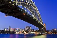 Den Sy bron vaggar till höger inställt arkivfoton