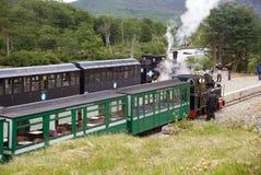 Den sydliga Fuegian järnvägen, Ushuaia, Argentina Fotografering för Bildbyråer