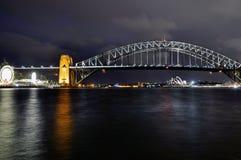 Den Sydney hamnen överbryggar Royaltyfri Foto
