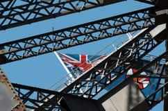 Den Sydney hamnen överbryggar klättring Fotografering för Bildbyråer