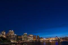 Den Sydney staden beskådar Royaltyfri Fotografi