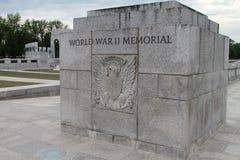 den synliga monumentet för minnesmärken för bakgrundsdc ii kriger den washington världen Royaltyfria Foton