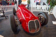 Den tävlings- bilen en formel en Maserati 4CLT, 1948 Royaltyfri Fotografi