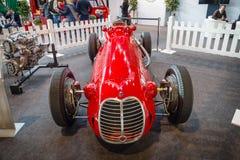 Den tävlings- bilen en formel en Maserati 4CLT, 1948 Royaltyfri Foto