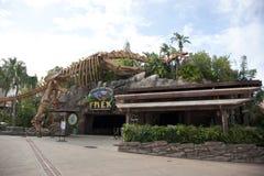 Den T-Rex restaurangen på Disney vårar Royaltyfri Foto