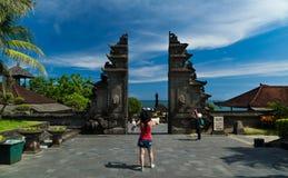Den Tanah lotten är Bali , Bali royaltyfria foton