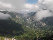 Den Tara kanjonen Arkivfoto