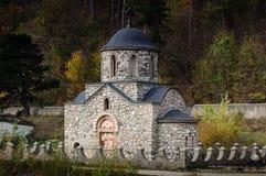 Den Templar kyrkan från kli Royaltyfria Bilder