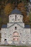 Den Templar kyrkan från kli Royaltyfri Bild
