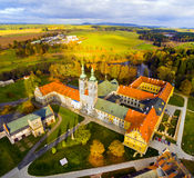 Den Tepla abbotskloster arkivbilder