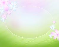 Naturliga abstraktionkaraktärsteckning och blommor för bakgrund Royaltyfria Foton