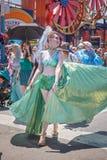 Den 36th årliga sjöjungfrun ståtar Royaltyfria Bilder