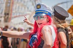 Den 36th årliga sjöjungfrun ståtar Royaltyfria Foton
