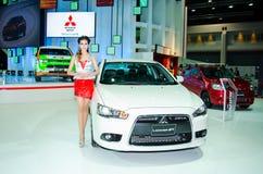 Den 35th Bangkok internationella motoriska showen 2014 Arkivfoton