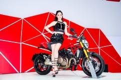 Den 35th Bangkok internationella motoriska showen 2014 Royaltyfri Foto