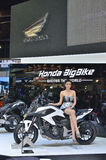 Den 35th Bangkok internationella motoriska showen Royaltyfri Fotografi