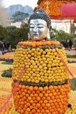 Menton citronfestival Arkivfoton