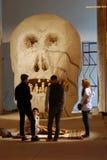 Den 6th Moskva Biennale av samtida konst Arkivbild