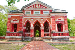 Den thailändska kunglig person åldras byggnad i Songkhla arkivfoton