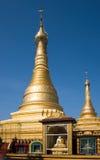 Den Thein Daw Gyi pagoden i Myeik, Myanmar Royaltyfria Bilder
