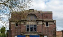 Den tidigare Kingsway bion gör till kung Heath Birmingham England UK royaltyfria bilder