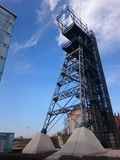 Den tidigare kolgruvan Katowice, plats av det Silesian museet Royaltyfria Foton