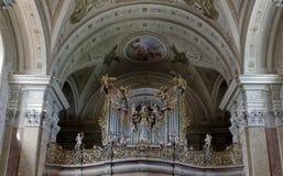 Den Tihany halvön i Ungern Arkivfoto