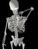 den tillbaka halsen smärtar Royaltyfri Fotografi