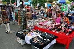 Den tillfälliga marknaden Royaltyfri Fotografi