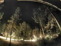 Den Timelapse natten går pro- Arkivbilder