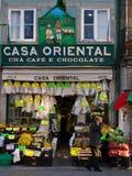 Den Tipic grosseryen shoppar i Oporto Royaltyfri Bild
