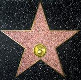 den tomma berömmelsestjärnan går arkivbild