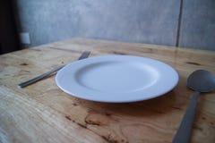 Den tomma maträtten Royaltyfria Foton
