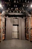 Den tomma teatern arrangerar Royaltyfri Foto
