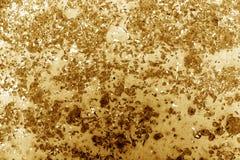 Den tonade apelsinen rostade metallyttersida Fotografering för Bildbyråer
