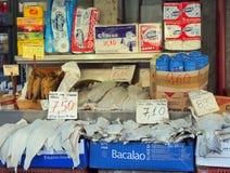 Den torkade fisken shoppar, Aten Royaltyfria Foton