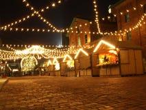 Den Toronto julen marknadsför Fotografering för Bildbyråer