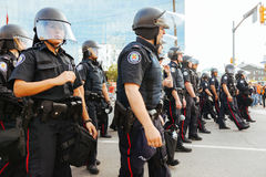 Den Toronto polisen Royaltyfri Bild
