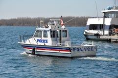 Den Toronto polisen Marine Unit Royaltyfri Bild
