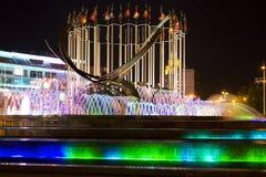 Den torra springbrunnen på den Krim invallningen Arkivbilder