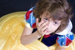 Den Tränen nah Kind stockfotografie