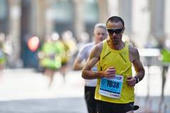 Den traditionella årliga maraton i Florence Royaltyfria Foton