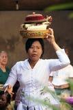 Den traditionella hinduiska ceremonin Arkivfoto