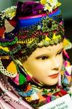 Den traditionella turkiska dräkten i museum ställer ut Arkivfoto
