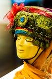 Den traditionella turkiska dräkten i museum ställer ut Royaltyfri Fotografi