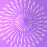 Den tredimensionella rosa färg och lilan mönstrar stock illustrationer