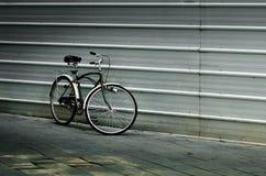 Den trevliga cykeln parkerar Royaltyfri Foto