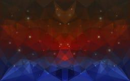 Den triangulära deepcoloren texturerar Royaltyfria Foton