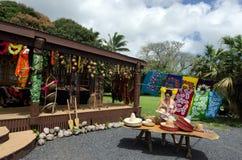 Den tropiska souvenir shoppar Royaltyfri Foto